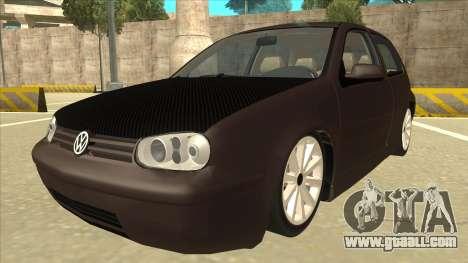 VW Golf 4 Tuned for GTA San Andreas