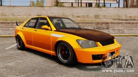 Sultan RS sedan for GTA 4