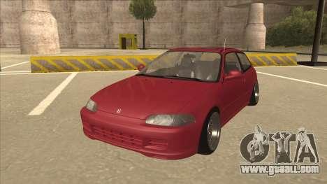 Honda Civic EG6 Camber for GTA San Andreas
