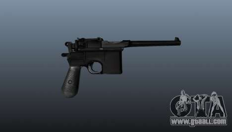 Mauser pistol v2 for GTA 4 third screenshot