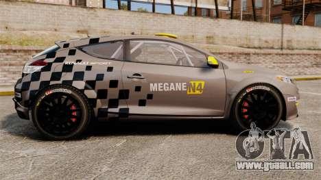 Renault Megane RS N4 for GTA 4 left view