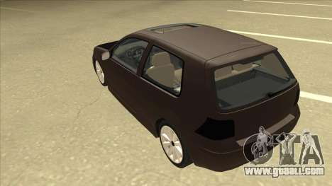 VW Golf 4 Tuned for GTA San Andreas back view