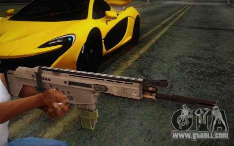 FN Scar for GTA San Andreas