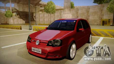 VW Golf GTI 2008 for GTA San Andreas
