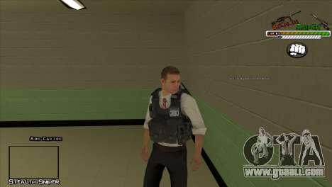 SAPD Pak skins for GTA San Andreas fifth screenshot