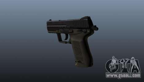 Gun HK45C v2 for GTA 4 second screenshot