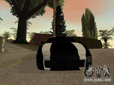 New Jester for GTA San Andreas back left view