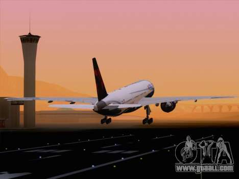Boeing 777-200ER Delta Air Lines for GTA San Andreas interior