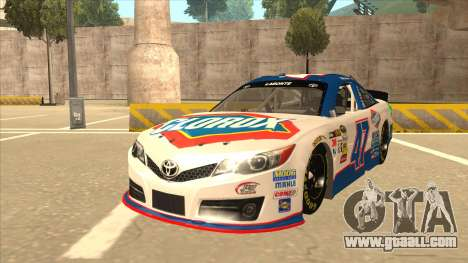 Toyota Camry NASCAR No. 47 Clorox for GTA San Andreas