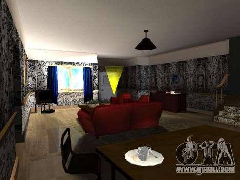 New interior 2-storeyed building CJ for GTA San Andreas forth screenshot