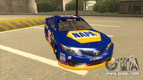 Toyota Camry NASCAR No. 56 NAPA for GTA San Andreas left view