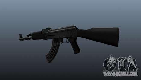 AK-47 v1 for GTA 4 second screenshot