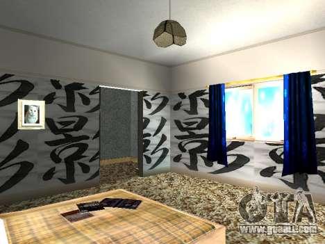New interior 2-storeyed building CJ for GTA San Andreas eleventh screenshot