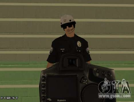 Los Angeles Air Support Division Pilot for GTA San Andreas fifth screenshot