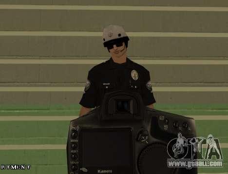 Los Angeles Air Support Division Pilot for GTA San Andreas fifth screenshot
