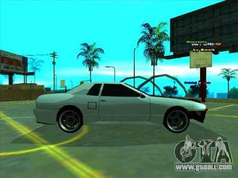 Drift Elegy by zhenya2003 for GTA San Andreas left view