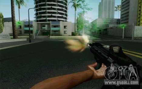 MK107 PDW for GTA San Andreas fifth screenshot