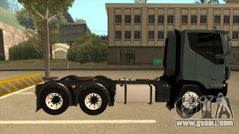 Iveco Hi-Land for GTA San Andreas back left view