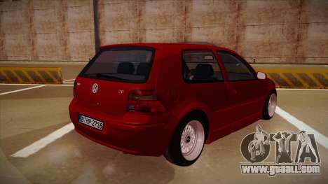 Volkswagen Golf Mk4 Euro for GTA San Andreas right view