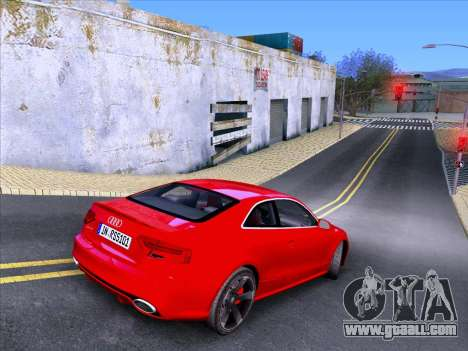 Audi RS5 2012 for GTA San Andreas back view
