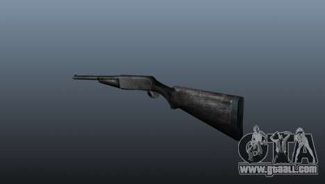 Semi-automatic shotgun for GTA 4 second screenshot