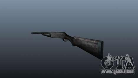 Semi-automatic shotgun for GTA 4 second screenshot