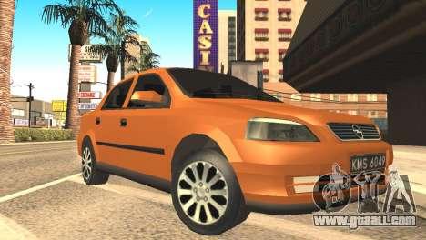 Opel Astra 1.6 TDi SEDAN for GTA San Andreas