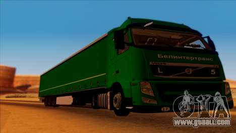 Volvo FH16 for GTA San Andreas upper view