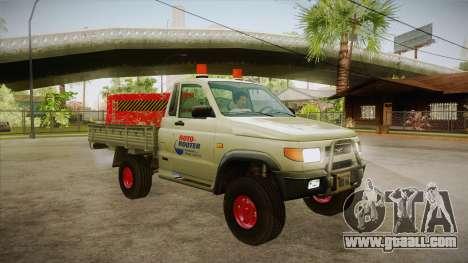 UAZ 2360 Repair water SA for GTA San Andreas back view