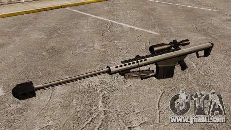 The Barrett M82 sniper rifle v1 for GTA 4 third screenshot