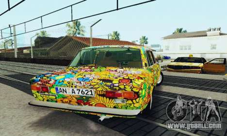 VAZ 21011 Hippie for GTA San Andreas side view