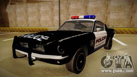 Shelby Mustang GT500 Eleanor Police for GTA San Andreas