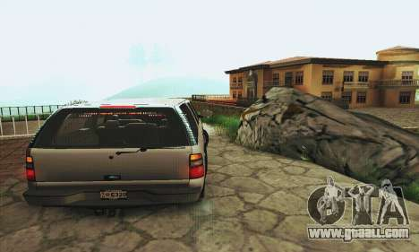 Chevrolet Suburban SAPD FBI for GTA San Andreas right view