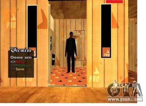 Skin Pack Russian mafia for GTA San Andreas second screenshot
