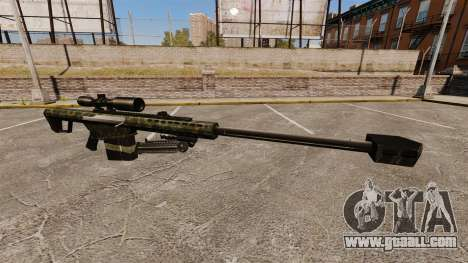 The Barrett M82 sniper rifle v7 for GTA 4