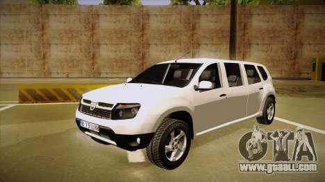 Dacia Duster Limuzina for GTA San Andreas