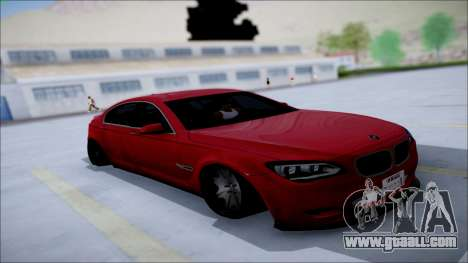 BMW 750 Li Vip Style for GTA San Andreas inner view