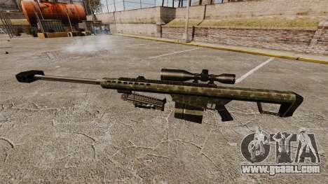 The Barrett M82 sniper rifle v7 for GTA 4 third screenshot