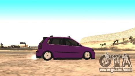 Volkswagen German Polo for GTA San Andreas left view