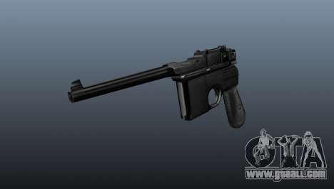 Mauser pistol v2 for GTA 4