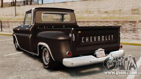 Chevrolet C-10 Stepside v1 for GTA 4 back left view