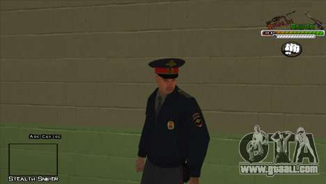 SAPD Pak skins for GTA San Andreas eleventh screenshot