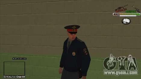 SAPD Pak skins for GTA San Andreas eleventh screenshot