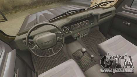 UAZ-315195 Hunter for GTA 4 inner view