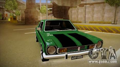 Ford Corcel GT 1975 for GTA San Andreas left view