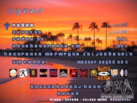 New menu for GTA San Andreas fifth screenshot