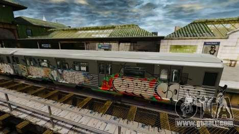 New graffiti on the Subway v2 for GTA 4 second screenshot