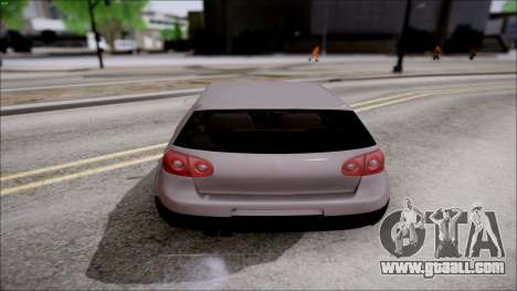 Volkswagen Golf GTI for GTA San Andreas right view