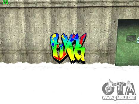 Graffity mod for GTA San Andreas eighth screenshot