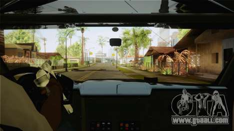 Bowler EXR S 2012 HQLM for GTA San Andreas inner view